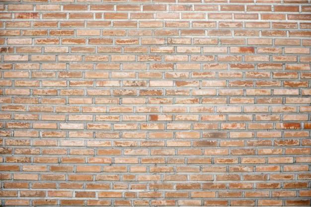 Struttura e fondo del muro di mattoni,