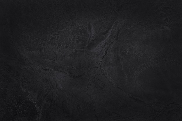 Struttura in ardesia nera grigio scuro ad alta risoluzione, sfondo del muro di pietra nera naturale.