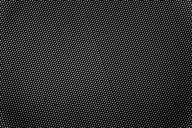 Struttura in bianco e nero di emergenza di lerciume. punto texture di sfondo.
