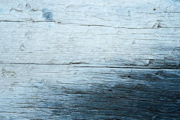 Struttura in legno blu
