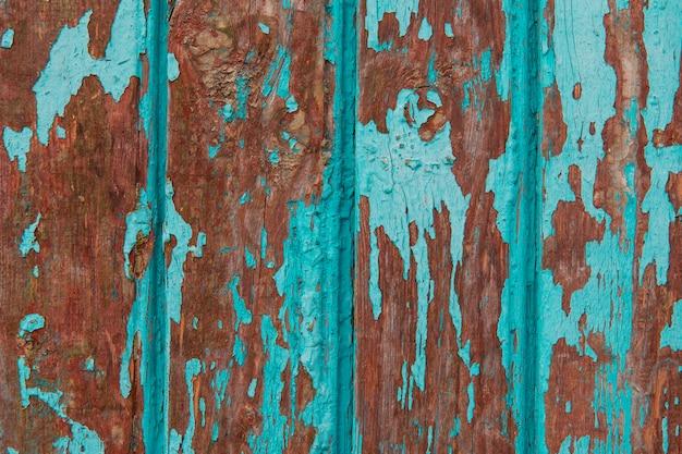 Struttura in legno dagli strati di tacchino di vernice turchese