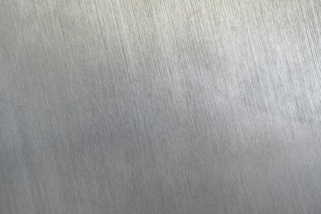 Struttura in metallo graffiato, piastra in acciaio spazzolato