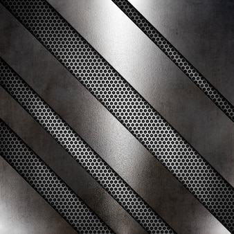 Struttura metallica astratta