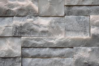 Struttura muraria in calcare marmoreo accatastato
