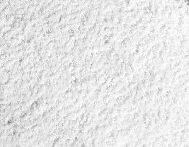 Struttura o fondo bianca dell'asciugamano del cotone
