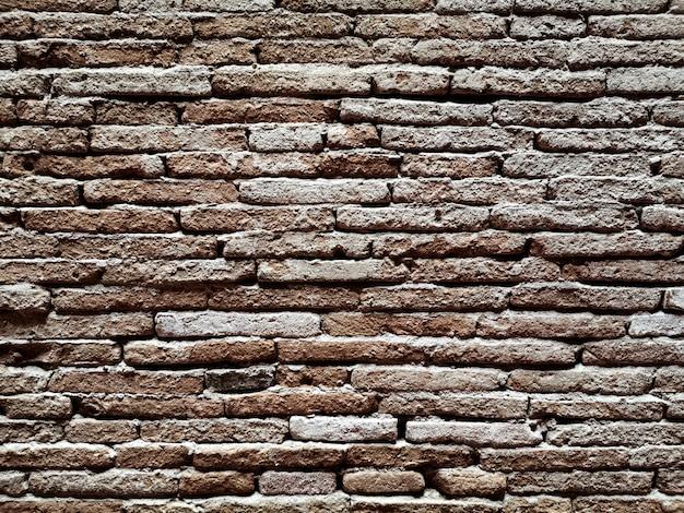 Struttura sporca del fondo delle pareti del vecchio mattone. astratto