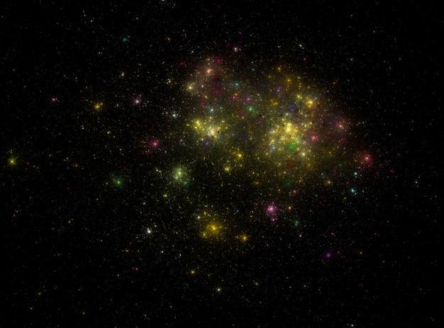 Struttura stellata del fondo dello spazio cosmico