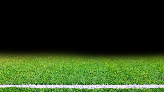 Struttura verde dettagliata dell'erba del campo di calcio