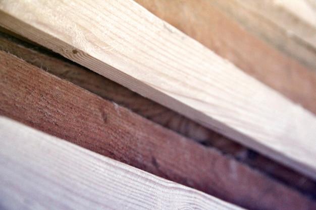Strutture in legno di tavole