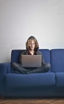 Studiare su un laptop