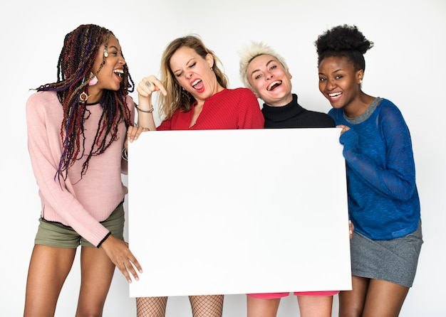 Studio shoot people diversity race