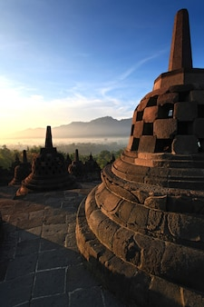 Stupa del tempio di borobudur