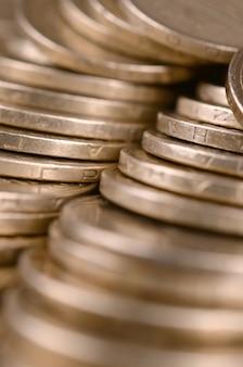 Successo finanziario ucraino denaro sfondo per la ricca vita s