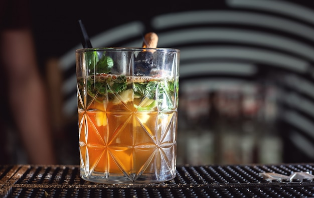 Succo alcol cocktail