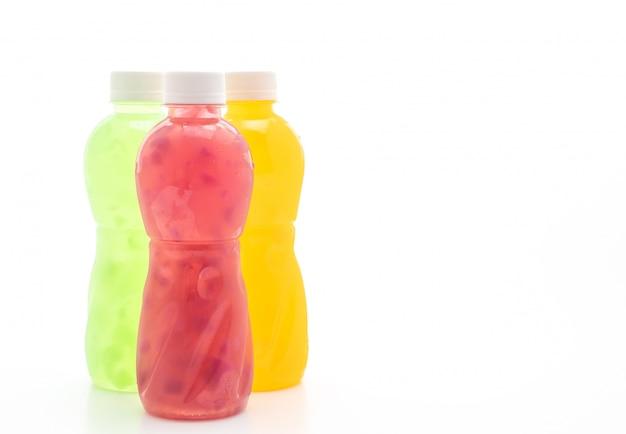 Succo misto con gelatina di cocco o cocco