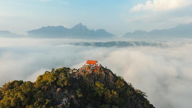 Sud africa paesaggio di campagna naturale della terra