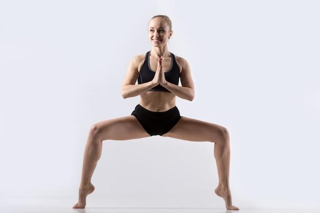 Sumo squat pose