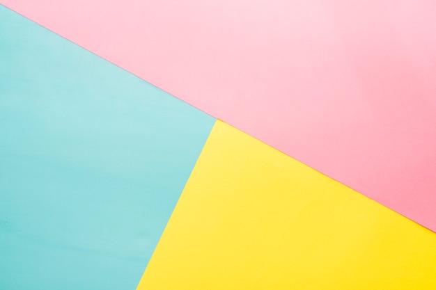 Superficie decorativa con tre colori