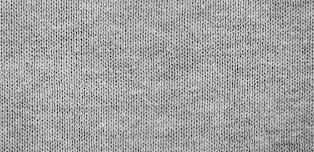 Superficie del tessuto grigio