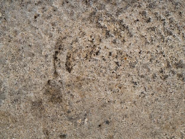 Superficie della parete di roccia del primo piano