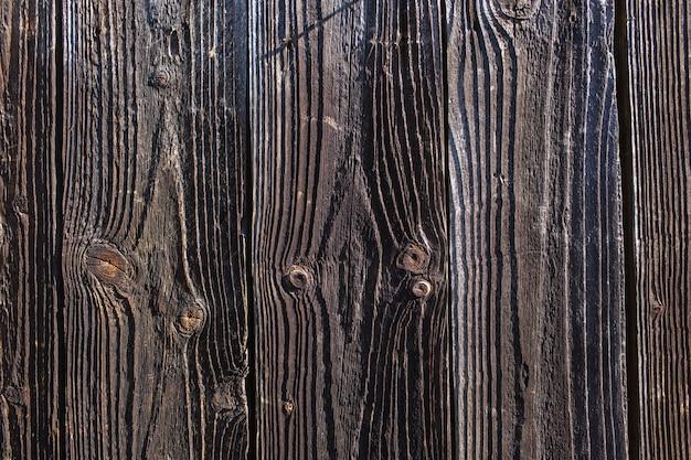 Superficie di legno del fondo di struttura con il vecchio modello naturale. tavolo in legno rustico superficie grunge