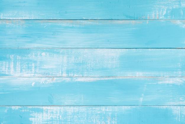 Superficie di sfondo blu struttura di legno