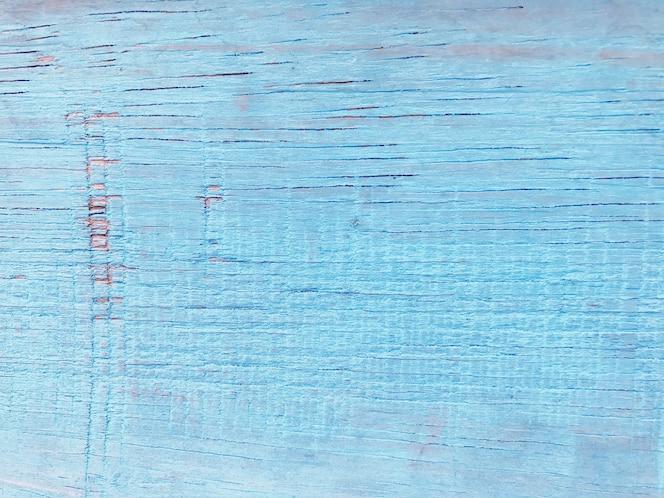 Superficie di sfondo blu struttura di legno.