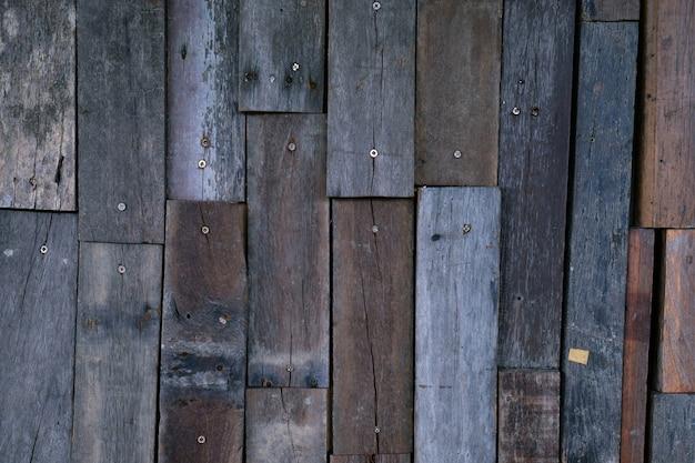 Superficie di sfondo scuro struttura di legno.