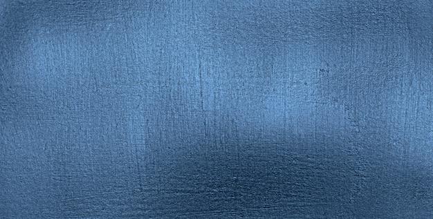 Superficie metallica blu classica