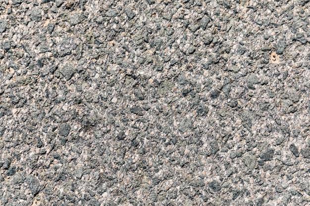 Superficie ruvida dell'asfalto