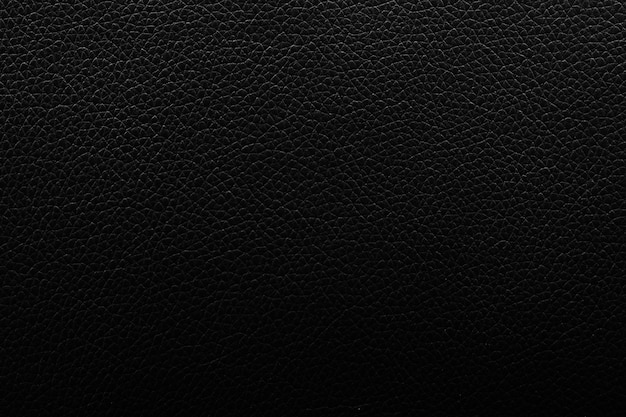 Superficie semplice del fondo di cuoio di lusso nero di struttura usata
