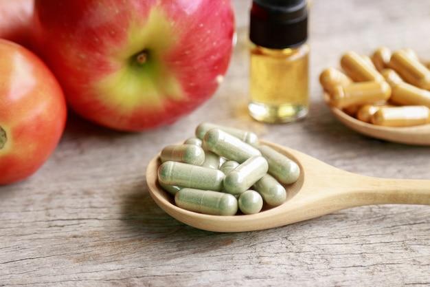 Supplemento vegetale di erbe e verdure