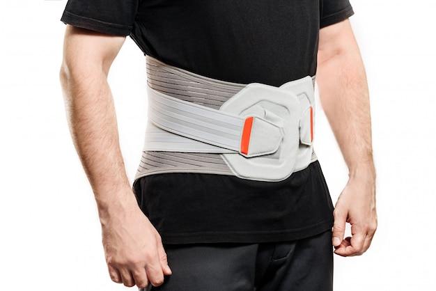 Supporto per i muscoli della schiena.