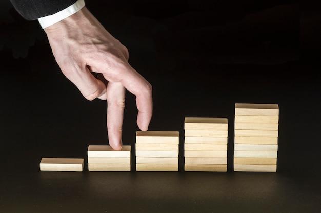 Sviluppo personale, crescita personale e di carriera, progresso.