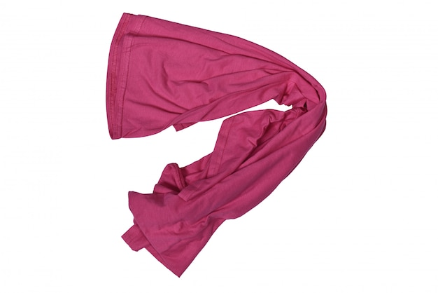 T shirt in disordine rosa