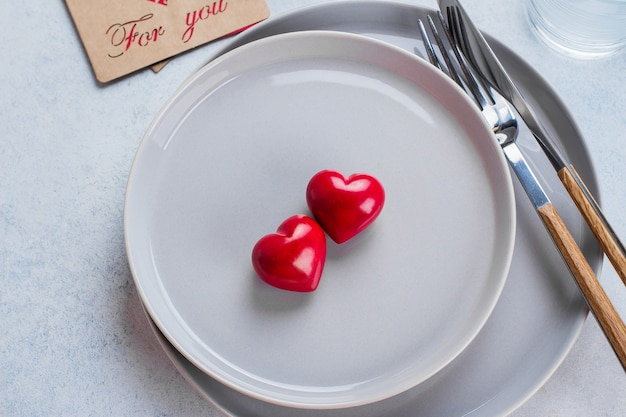 Tabella di sfondo di san valentino