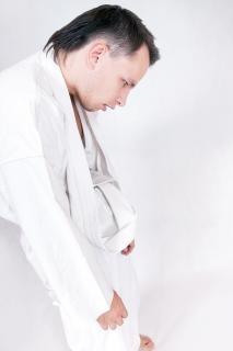 Taekwondo sportsman