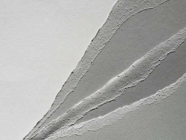 Tagli di carta in scala di grigi