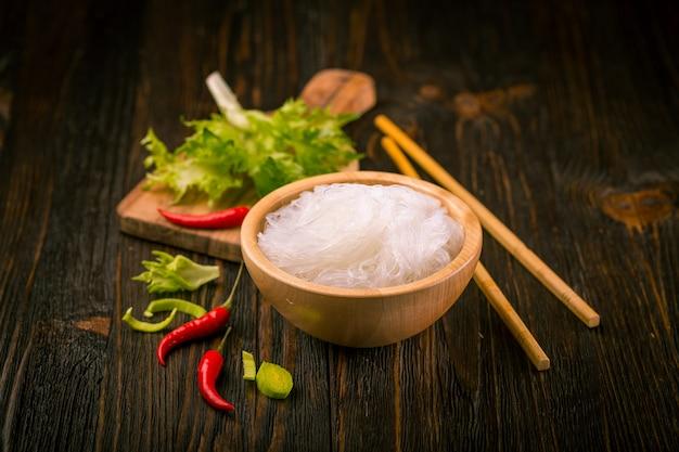 Tagliatella di vetro di riso