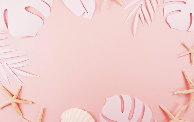 Taglio di foglie di palma