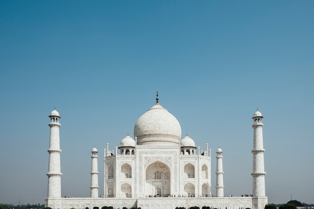 Taj mahal, edificio di lusso in india