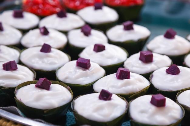 Tako è il dolce della thailandia, fatto di farina