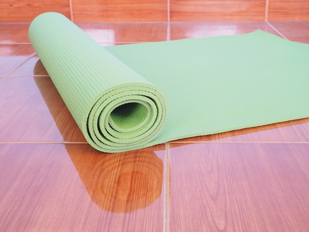 Tappetino yoga verde