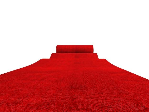 Tappeto rosso rotolante