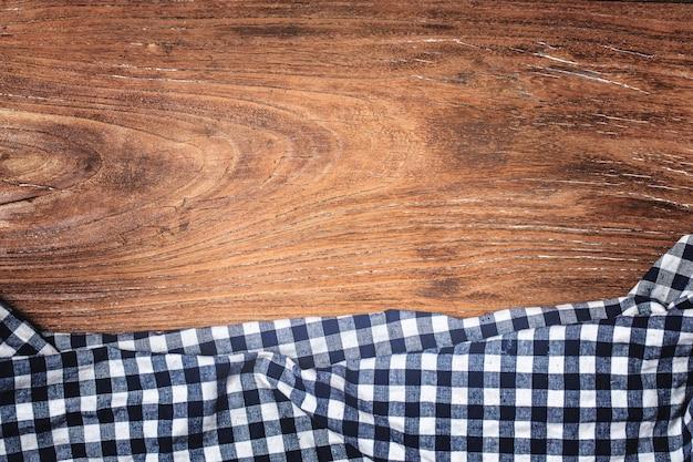Tartan, sfondo di legno