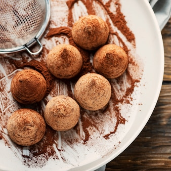 Tartufo al cioccolato fatto in casa