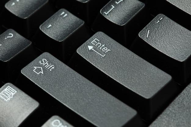 Tastiera del computer isolata