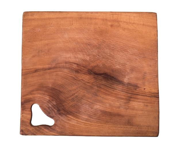 Tavola di legno vecchia cucina quadrata