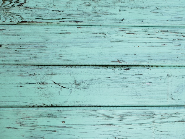 Tavola in legno turchese. grande vista. trama per parete