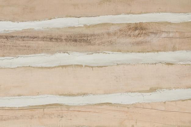 Tavole di legno con argilla. colore naturale. avvicinamento